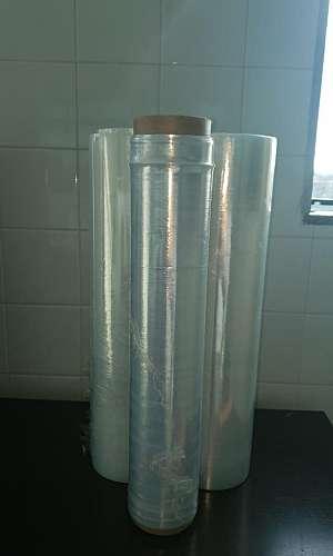 Bobina de filme plástico