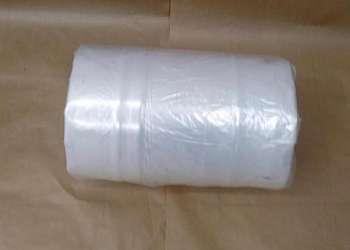 Bobina de plastico transparente