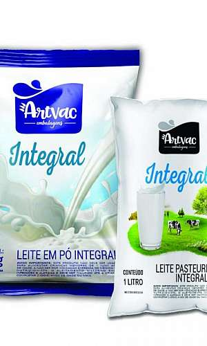 Embalagem plástica para leite preço