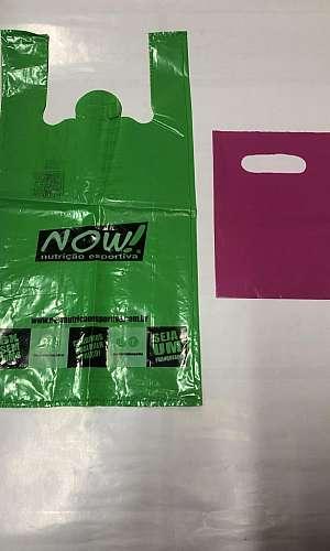 Embalagem saco plastico