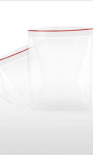 Embalagens plásticas transparente