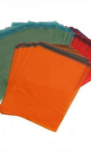 Envelope saco colorido