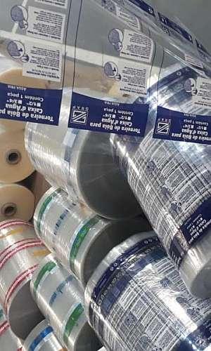 Orçamento de filme plástico para embalagem