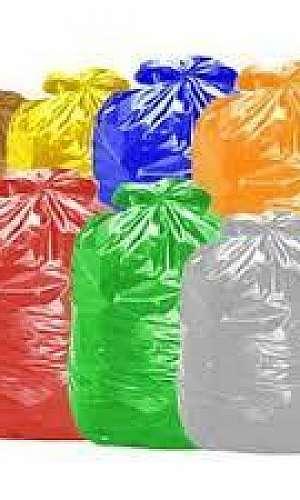 Orçamento de pacote de saco colorido