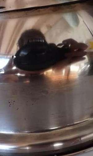 Polimento de metais pequenos