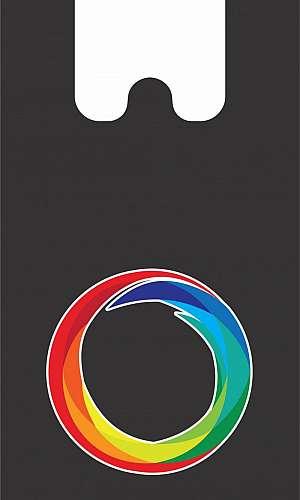 Sacola com impressão 3 cores