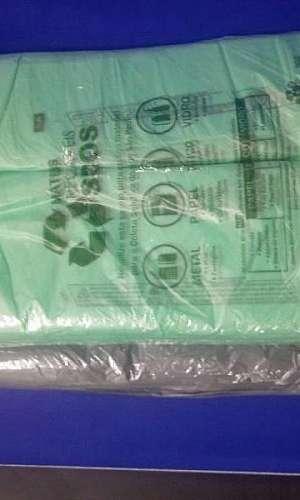 Sacola plástica biodegradável