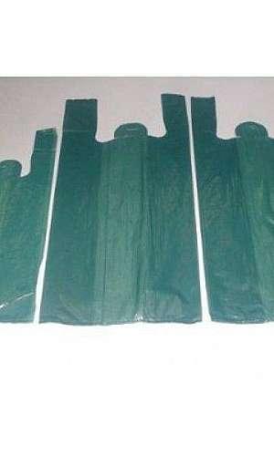Sacolas de material reciclável